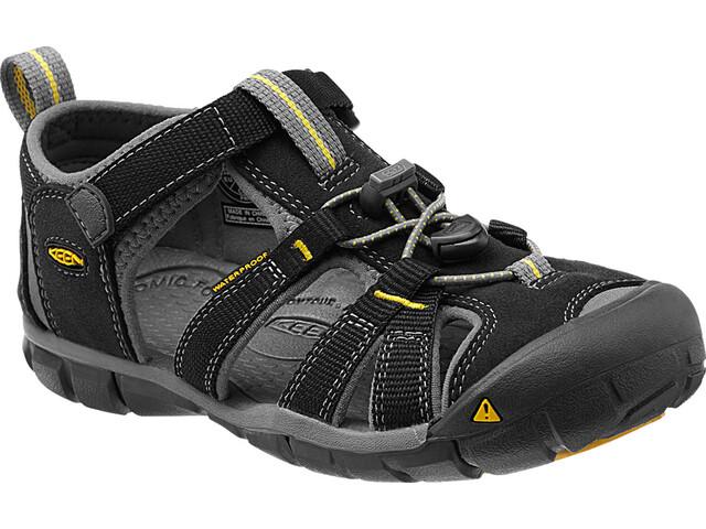 Keen Childern Seacamp II CNX Sandals Black/Yellow